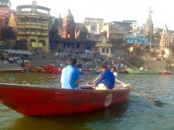The centre is next to the ancient city of Varanasi